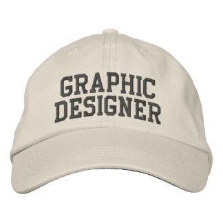 Graphic Designer Embroidered Hat