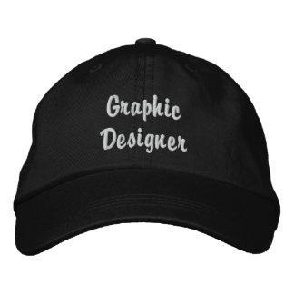 Graphic Designer Hat Embroidered Baseball Cap