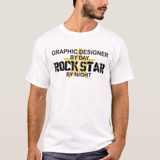 Graphic Designer Rock Star T-Shirt