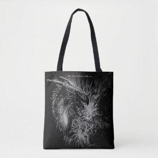 Graphic Dragon Tote Bag