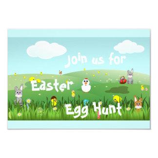 graphic Easter landscape Card
