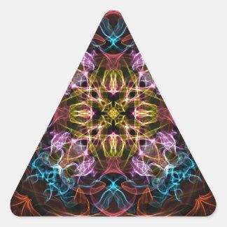 Graphic Elegance Triangle Sticker