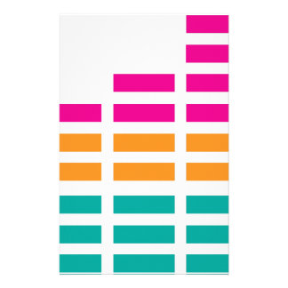 Graphic Equaliser Stereo Hi-Fi Personalised Stationery