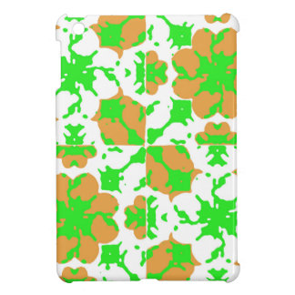 Graphic Floral Pattern iPad Mini Covers