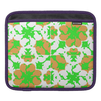 Graphic Floral Pattern iPad Sleeve