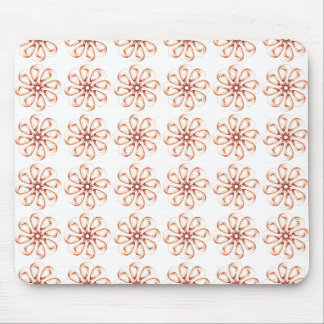 Graphic Flowers Mouse Pad