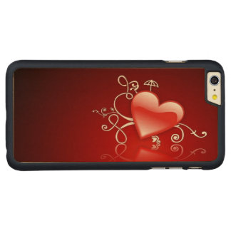 Graphic for St Valentine' s day - Carved® Maple iPhone 6 Plus Case