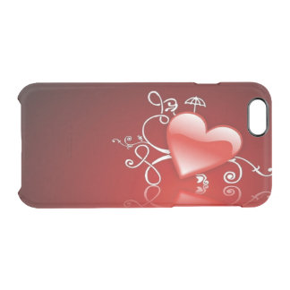 Graphic for St Valentine' s day - Clear iPhone 6/6S Case