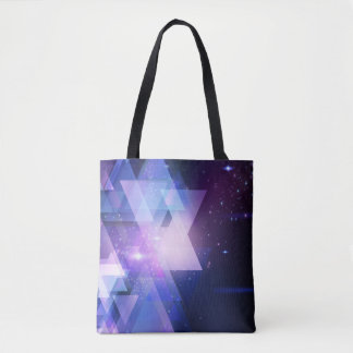 Graphic Galaxy Cosmos Print Tote Shopper Bag