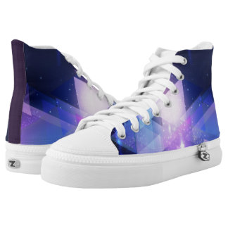 Graphic Galaxy High Top Shoes Trainers