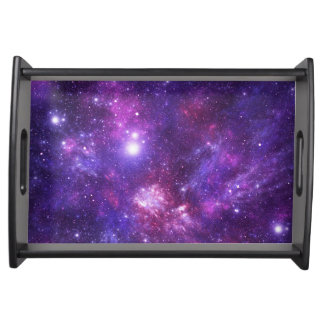 Graphic Galaxy Serving Tray