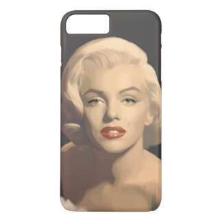 Graphic Gray Marilyn iPhone 7 Plus Case