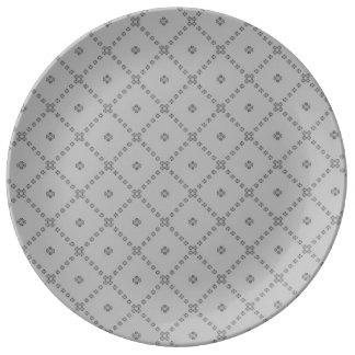 Graphic Grey Design Plate