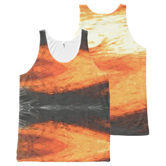 Graphic Holiday All-Over Print Singlet
