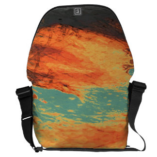 Graphic Holiday Courier Bag