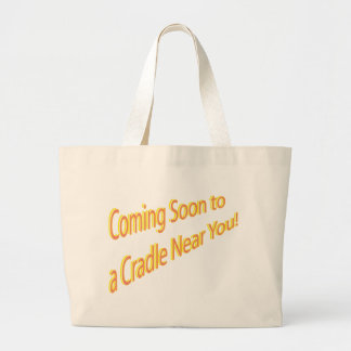 Graphic Maternity Section Jumbo Tote Bag
