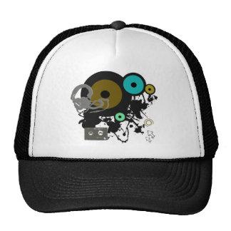 Graphic Music Design Mesh Hats