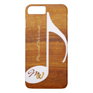 graphic music wood style iPhone 8 plus/7 plus case
