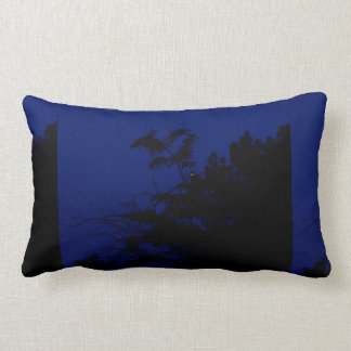 Graphic Night Owl Lumbar Pillow