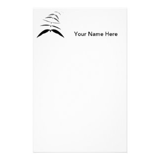 Graphic of Bat in flight Customized Stationery