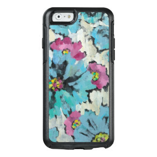 Graphic Pink and Blue Floral OtterBox iPhone 6/6s Case