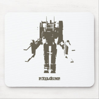 Graphic Robot Mouse Pad