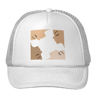 Graphic showing unity amongst beautiful women cap