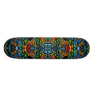 graphic skateboard