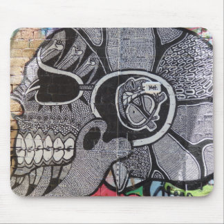 Graphic Skull Mouse Pad