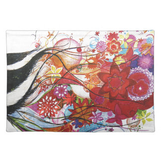 Graphic Sparrow Placemat