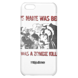 Graphic Stencil Zombie Killer iPhone 5C Cases