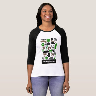"""Graphic T-shirt """"It's a jungle out there"""""""