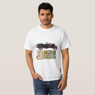 Graphic t-shirt with black vintage car