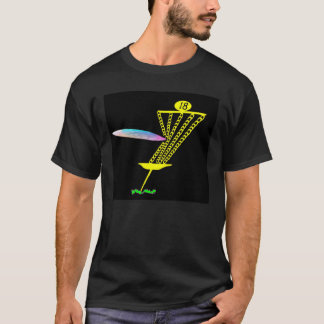 Graphic T with Discgolf theme. T-Shirt