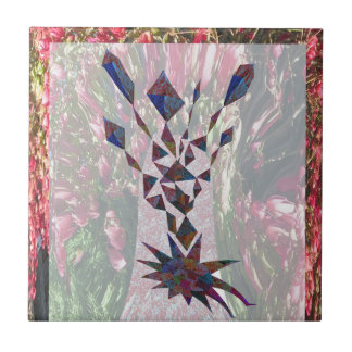 GRAPHIC TREE Patchwork of Papercut Art photography Tiles