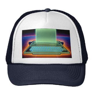 Graphic typewriter hats