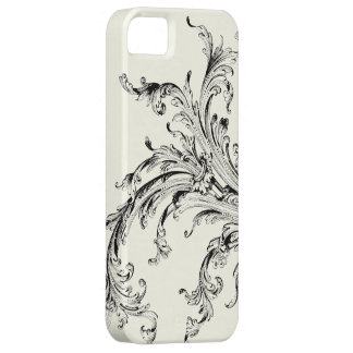 Graphic Vintage Flourish iPhone 5 Cover