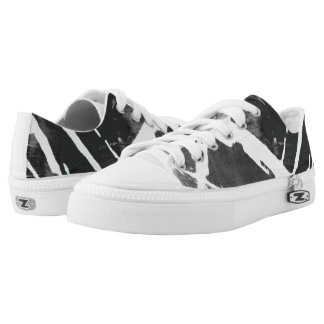 Graphic ZIPZ Low Tops