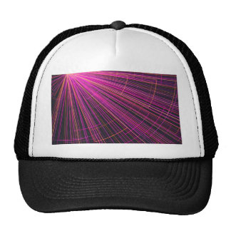 graphical style mesh hat