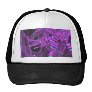 graphical wild colorful hat
