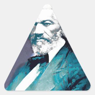 Graphics Depot - Frederick Douglass Portrait Triangle Sticker