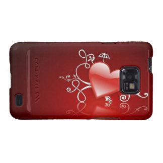 Graphics of St. Valentine's day - Samsung Galaxy SII Case