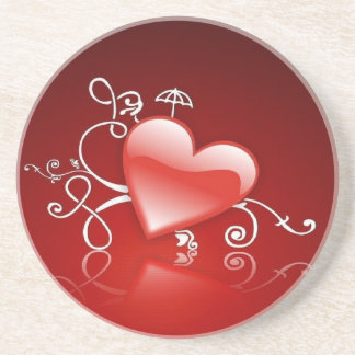 Graphics of St. Valentine's day - Beverage Coasters