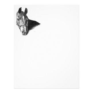 Graphite Horse Head Flyer