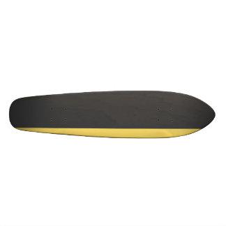 Graphite Yellow Longboard Skateboard Deck