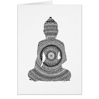GraphiZen Buddha Card