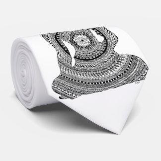 GraphiZen Buddha Tie
