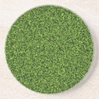 Grass Background Drink Coaster