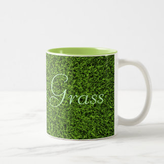Grass Background Mug