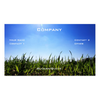 Grass Co. Pack Of Standard Business Cards